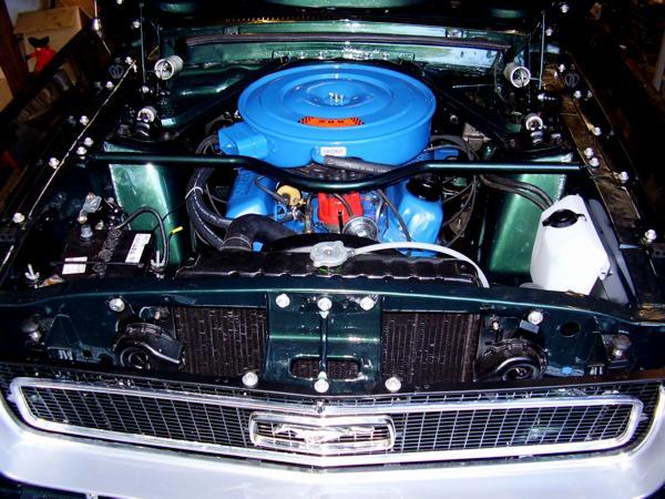 Restaurierung Ford Mustang Coupé 1968