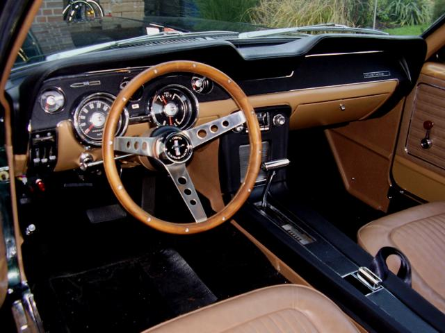 Restaurierung Ford Mustang Coup 233 1968