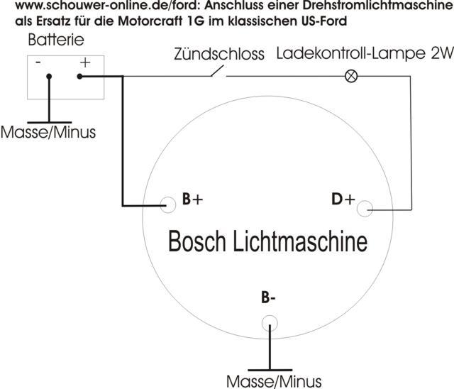 Ungewöhnlich Schaltplan Interne Regler Lichtmaschine Bilder - Die ...